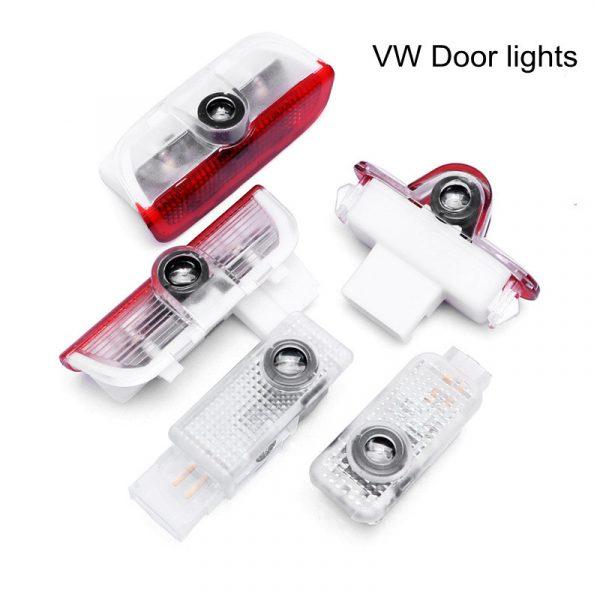 VW Logo Door lights