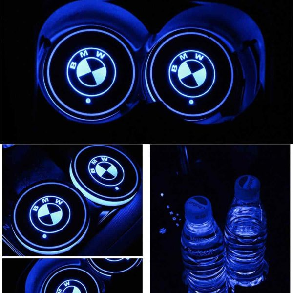 bmw light up cup holders
