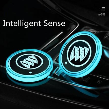 buick car coasters light up
