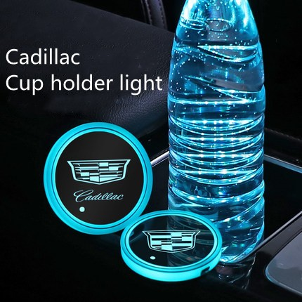 cadillac cup holder lights