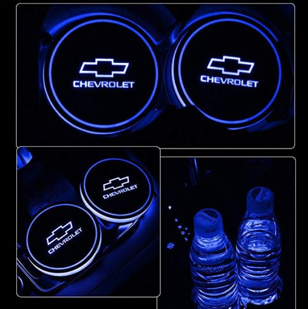 chevy cup holder lights