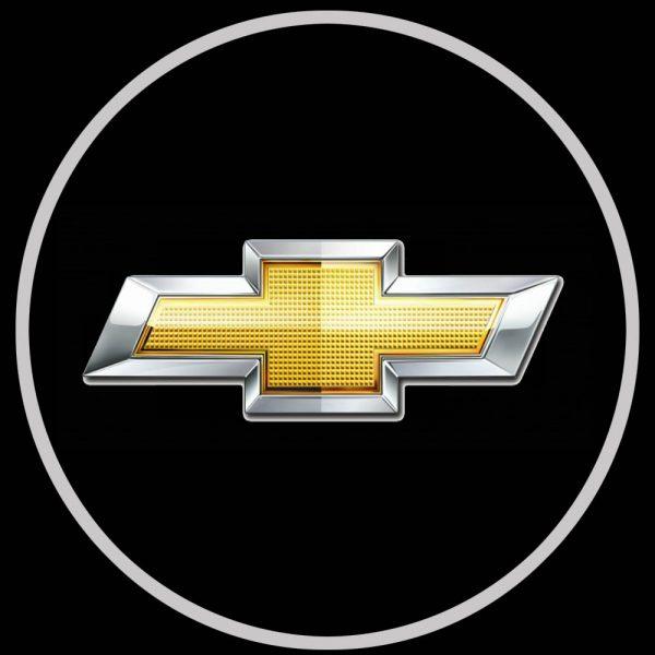 chevy logo door lights