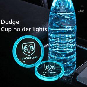 dodge challenger cup holder lights