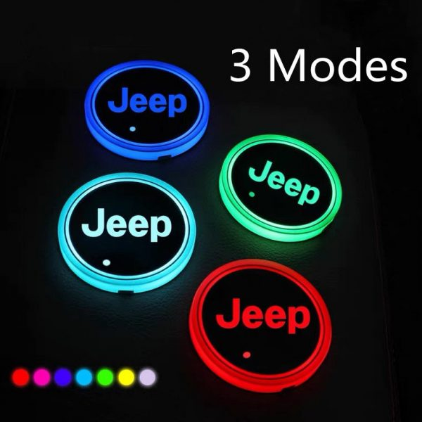 jeep cup holder lights