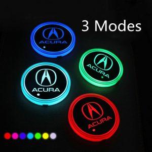 led car coasters