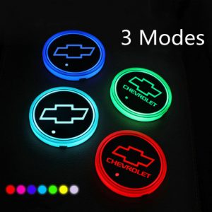 led cup holder lights Chevy