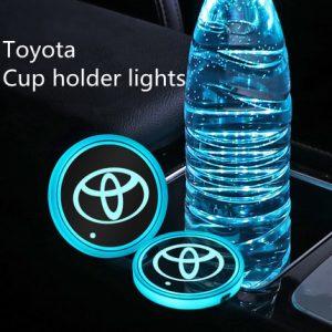 luminous coasters for cars
